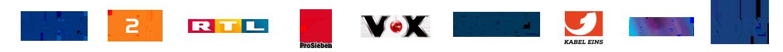 ARD - ZDF - RTL - ProSieben - Vox - WDR - KABEL EINS - SWR - NDR