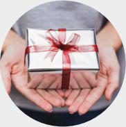 Unser besonderer Geschenkservice