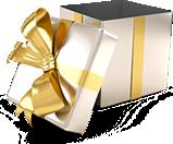 Pralinen Geschenk